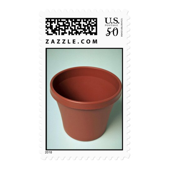 Unique Clay pot Postage