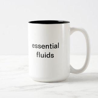 Unique Coffee Mug (essential fluids)