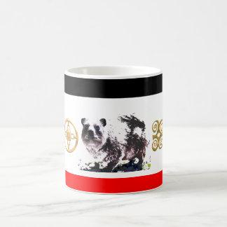 Unique coffee mugs=symbols of strategy, strength coffee mug