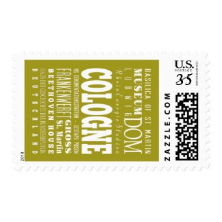 Unique Cologne, Germany Gift Idea Postage Stamps
