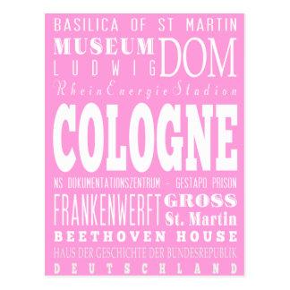 Unique Cologne, Germany Gift Idea Postcard
