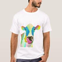 Unique colorful cow T-Shirt