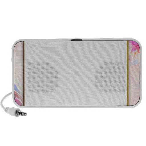 Unique Colorful floral and Paisley pattern Speaker