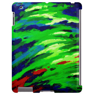 Unique Colorful Opal iPadCase