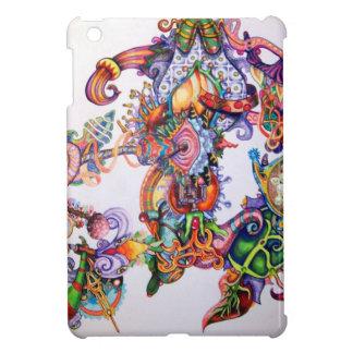 UNIQUE COLORFUL TIBET MANDALA ART COVER FOR THE iPad MINI