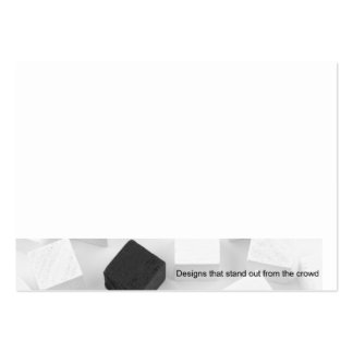 Unique concept design large business card