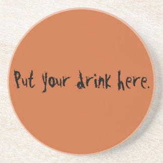 Unique cool tan gifts to customize & create fun drink coasters