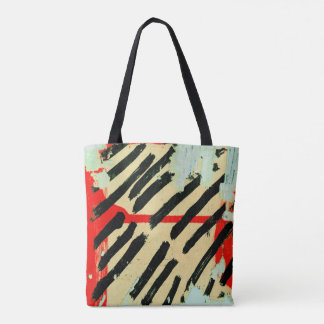 Unique Cool Worn Wall Paper Paint Tote Bag