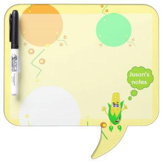 Unique Corn monster illustration for children Dry-Erase Board