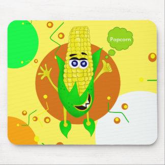 Unique Corn monster illustration for children Mouse Pad