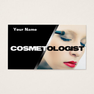 Unique Cosmetologist Business Cards