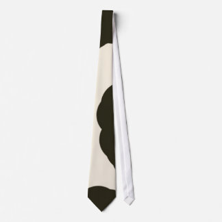 Unique Cowhide Pattern Silky Mens' Neck Tie