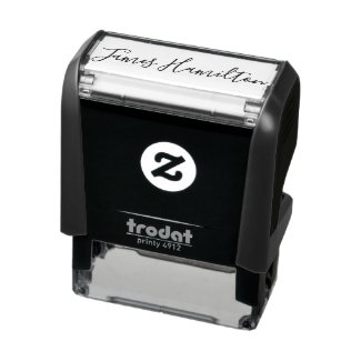 Unique Custom Signature personalized Self-inking Stamp