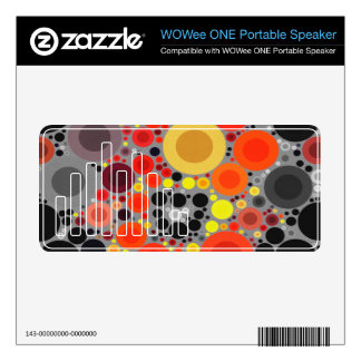 Unique Custom WOWEE Soeaker Decals WOWee Speaker Skin