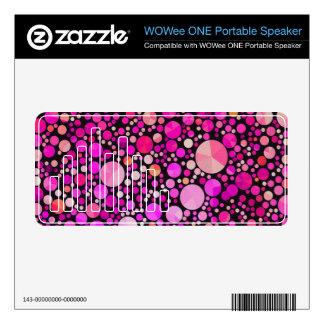 Unique Custom WOWEE Soeaker Decals WOWee Speaker Skins