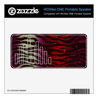 Unique Custom WOWEE Soeaker Decals Decal For WOWee Speaker