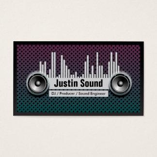 Unique Customizable DJ Business Card Template