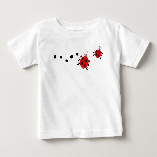 Unique cute ladybugs & black spot baby T-Shirt