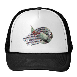 Unique Decorative Fish Trucker Hat