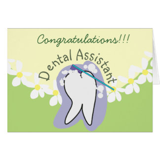 Unique Dental Assistant Gifts Card