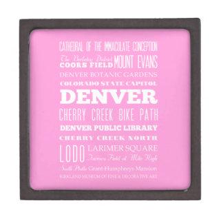 Unique Denver, Colorado Gift Idea Jewelry Box