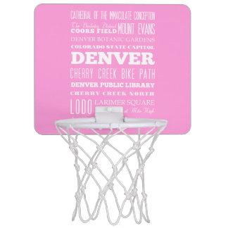 Unique Denver, Colorado Gift Idea Mini Basketball Backboard