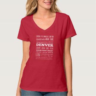 Unique Denver, Colorado Gift Idea Shirt