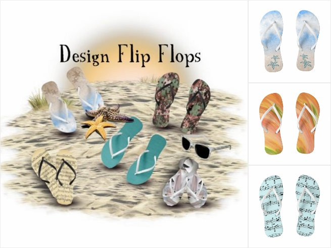 Unique Design Flipflops for Summer Feet