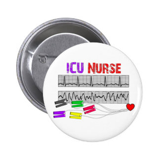 Unique Design ICU Nurse Gifts Button