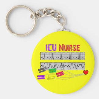 Unique Design ICU Nurse Gifts Keychain