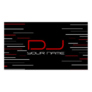 Unique DJ Business Card Pack Of Standard Business Cards