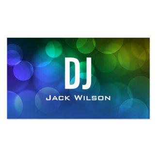 UNIQUE DJ BUSINESS CARD | Blue