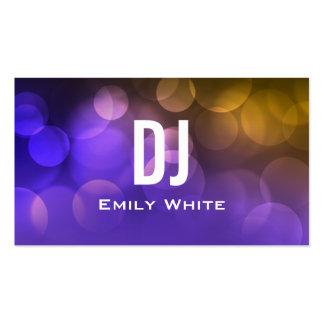 UNIQUE DJ BUSINESS CARD   Purple