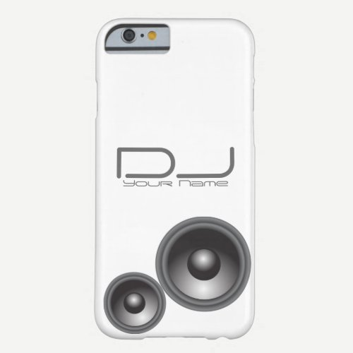 Unique DJ iPhone 6/6s Case