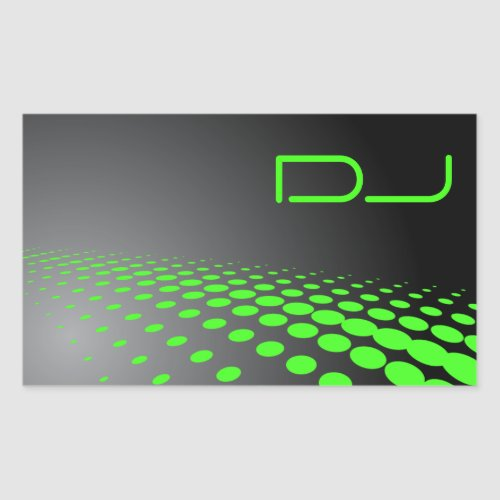 Unique DJ Sticker