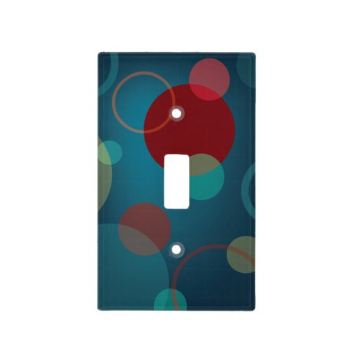 Unique Dots And Circles Light Switch Cover Zazzle