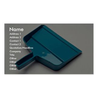 Unique Dust pan Double-Sided Standard Business Cards (Pack Of 100)