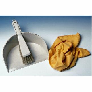 Unique Dustpan brush and duster Cut Out
