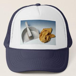 Unique Dustpan, brush and duster Trucker Hat