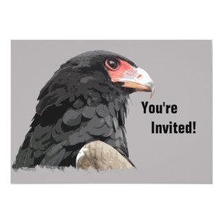 Unique Eagle 5x7 Paper Invitation Card