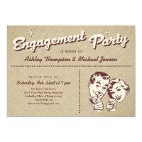 Unique Engagement Party Invitations