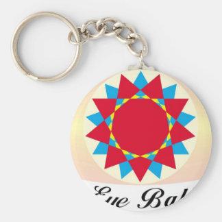 unique eye ball design keychain