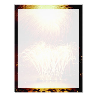 Unique Fireworks, Vancouver, British Columbia, Can Letterhead Template