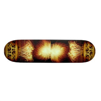 Unique Fireworks, Vancouver, British Columbia, Can Custom Skateboard