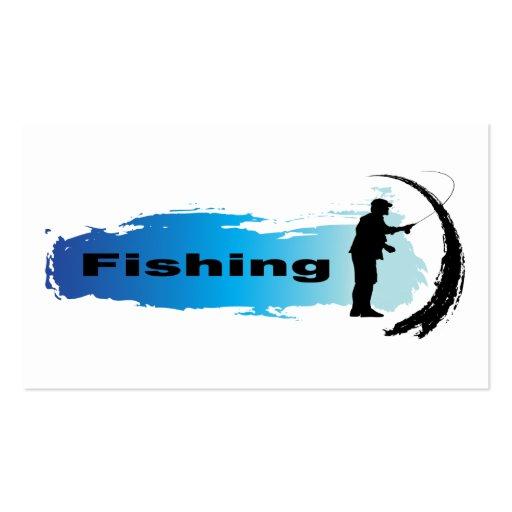 Unique Fishing Business Card