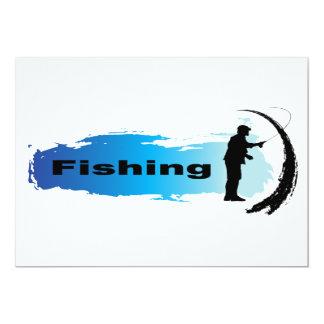 Unique Fishing Card