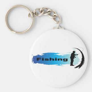 Unique Fishing Key Chain