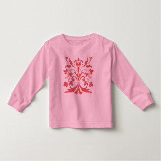 Unique Fleur de lis Queen (dark salmon) Toddler T-shirt
