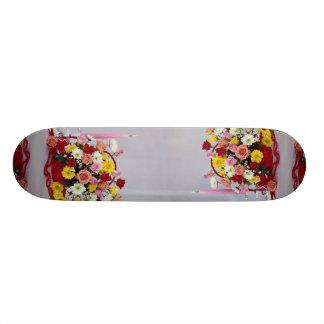 Unique Floral still life Custom Skate Board