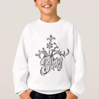 Unique Flourish Design Sweatshirt